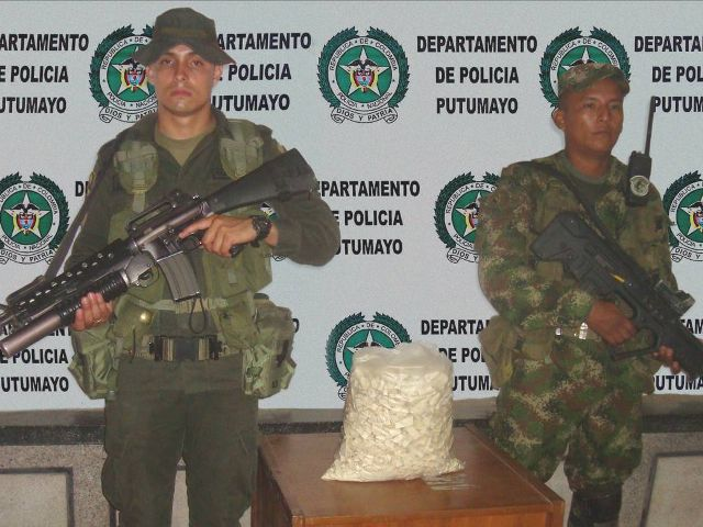 Incautados 10 kilos de base de coca