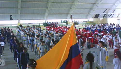 Inauguración fase intermunicipal de los Juegos Intercolegiados en Sibundoy