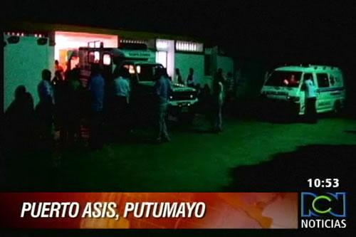 Ataque de las Farc en Putumayo deja 4 policías heridos