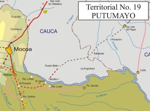 Invías registró 53 derrumbes en la carretera Mocoa-Pitalito