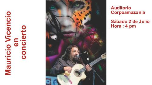 MAURICIO VICENCIO EN CONCIERTO «Génesis de la música Andina»