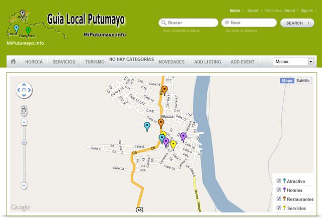 Nuevo Servicio de MiPutumayo.com.co – Guía Local del Putumayo en www.miputumayo.info