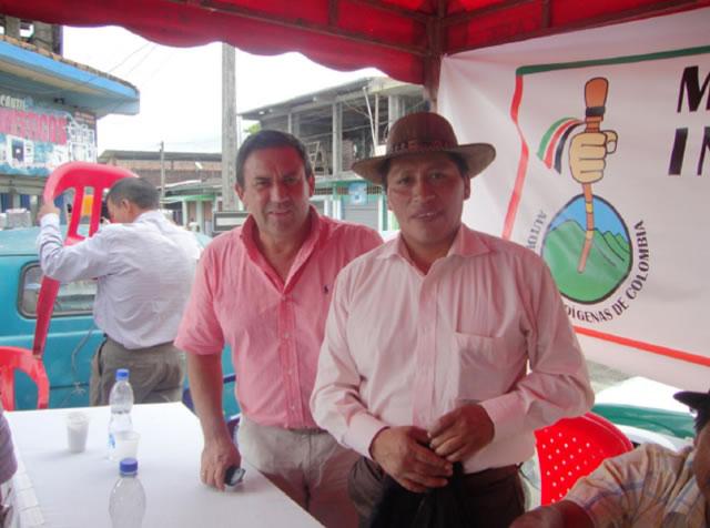 Multitudinaria adhesión de Movimiento AICO de La Hormiga al candidato a la gobernación Jimmy Díaz