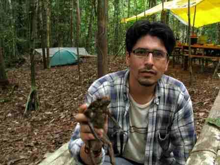 Profesional putumayense gana el Premio Sabin Award for Amphibian Conservation