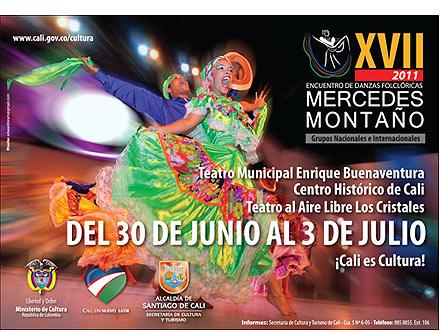 """XVII Encuentro de Danzas Folclóricas """"Mercedes Montaño"""""""