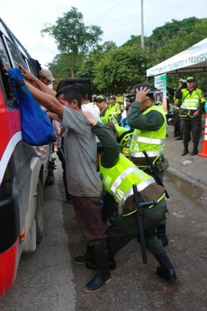 Acciones de la Policía contra las manifestaciones delictivas en el departamento del Putumayo