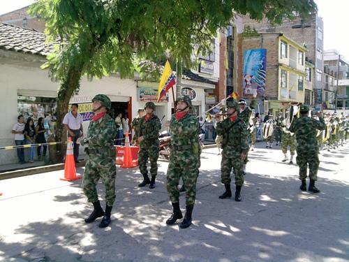 Desfile de Independencia en Mocoa