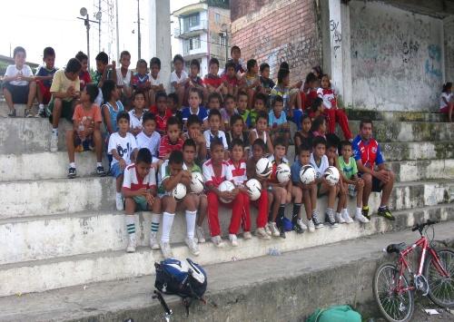 """Escuela de Formación en Fútbol """"Marco Antonio Gonzales""""."""