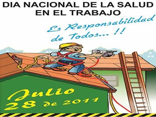 28 de Julio, Día Nacional de la Salud en el Trabajo