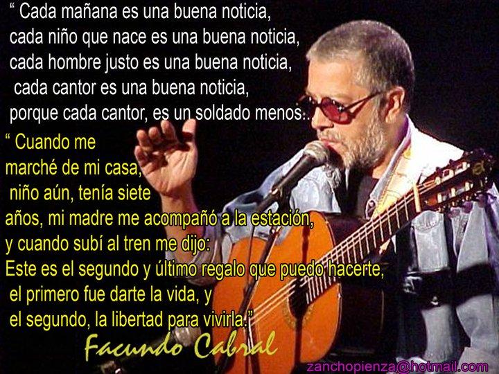 Facundo Cabral: Adiós a un grande !