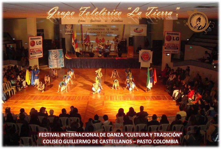 Grupo La Tierra en Festival Internacional de Danza en Nariño