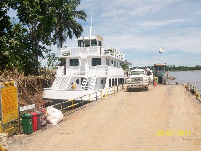 Corpoamazonia recibió la unidad fluvial de educación ambiental