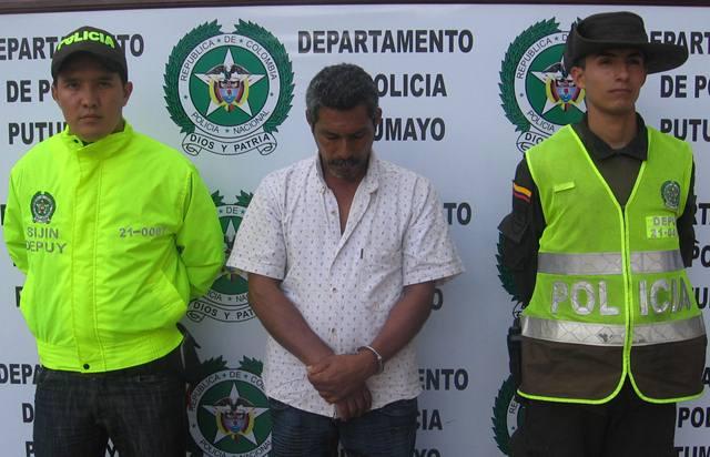 Capturados en Orito dos presuntos terroristas del frente 48 de las FARC