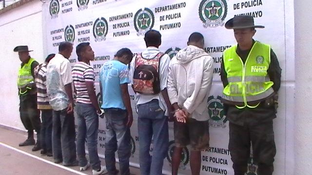 Capturadas 9 personas por diferentes delitos