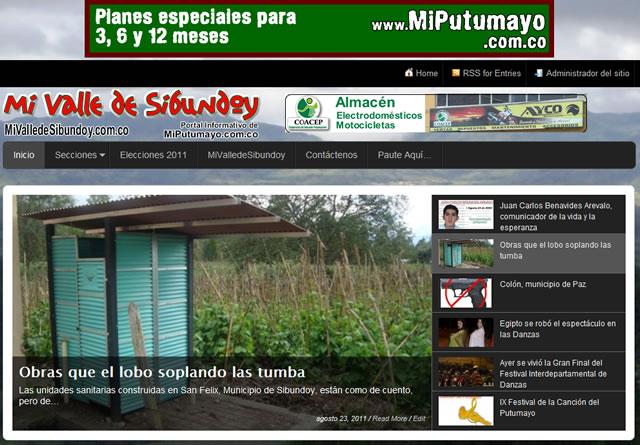 MiValledeSibundoy.com.co