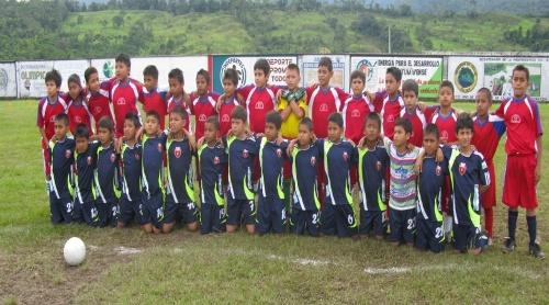 Departamental de Futbol Sub-10 en Mocoa