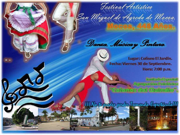 Festival Artístico en Mocoa