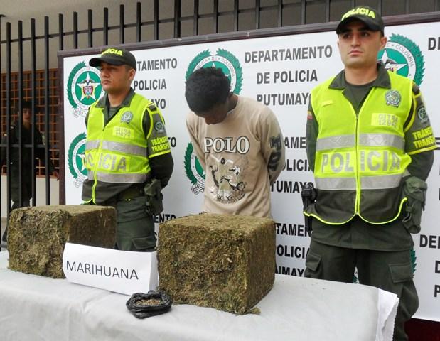 Capturado distribuidor mayorista de marihuana