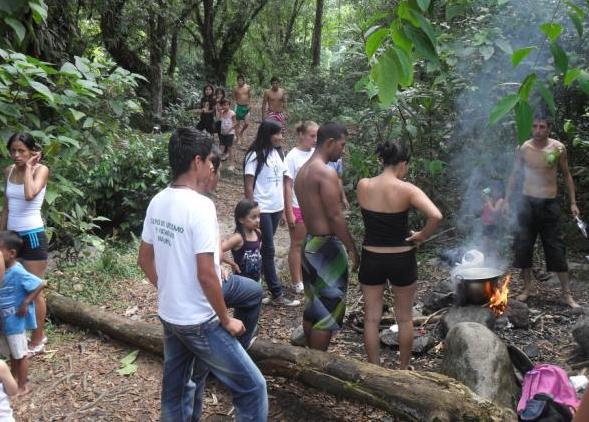 Continúan acciones de educación ambiental en balnearios de Mocoa Putumayo