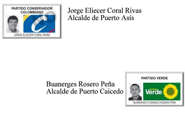 Resultados en Puerto Caicedo y Puerto Asís