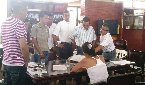 Escrutinio de votación para elección a rector del ITP