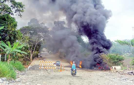 Escalada terrorista en el Bajo Putumayo