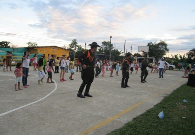 Actividad deportiva en Puerto Asis