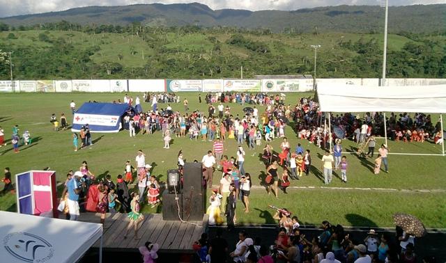 Celebración del 31 de Octubre en Mocoa