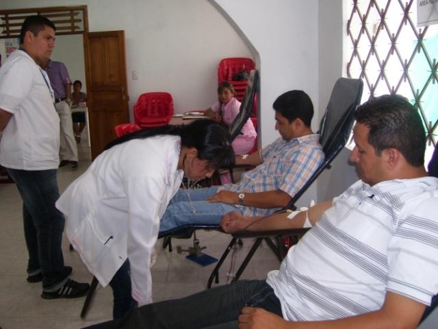 Gobernación del Putumayo participa en campaña de donación de sangre