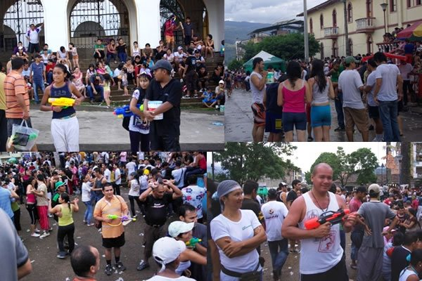 Carnaval del Agua en Mocoa (Percongaba)…. todos al parque
