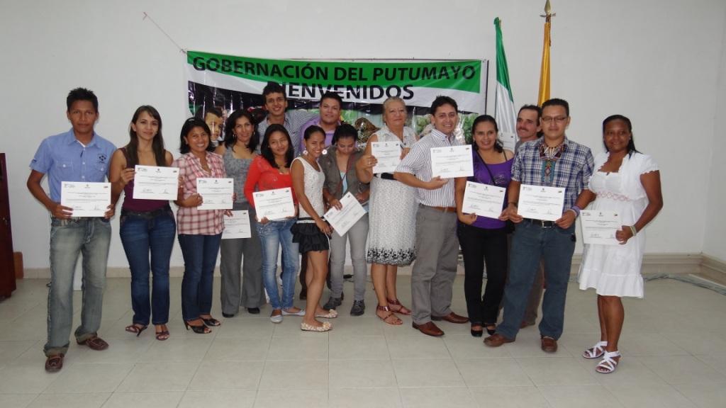 38 Putumayenses se certifican en Gestión Social de Organizaciones Solidarias y Turismo.