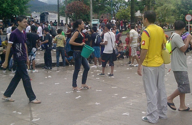 Carnaval del Agua – Parque General Santander