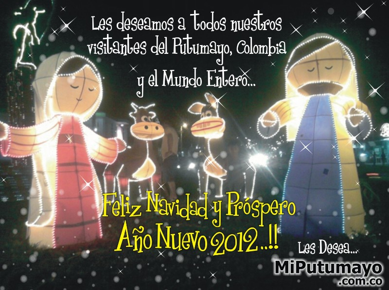 Saludo de Navidad y Año Nuevo