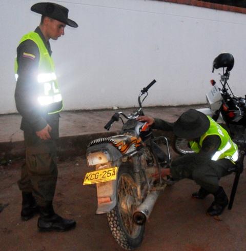 Contundentes operaciones de la Policía en el Putumayo