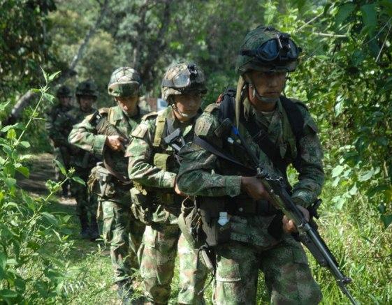 Continúan los combates armados en Putumayo