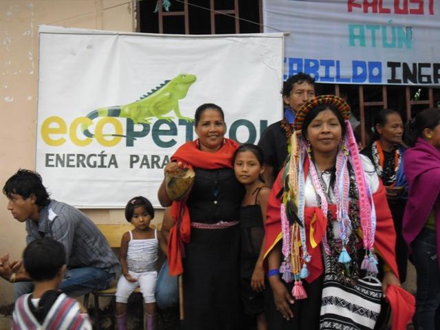 Con el Apoyo de Ecopetrol, Dos pueblos indígenas de Orito, Putumayo disfrutaron de sus tradiciones culturales