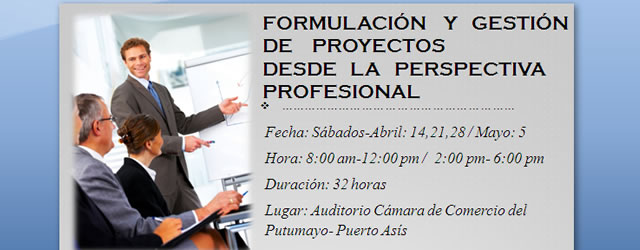 Formulación y Gestión de Proyectos desde la perspectiva profesional