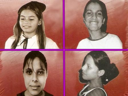 Cuatro mujeres, cuatro hermanas, cuatro ausencias