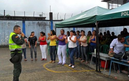 Celebración del día de la Madre a reclusas del Centro Penitenciario en Mocoa