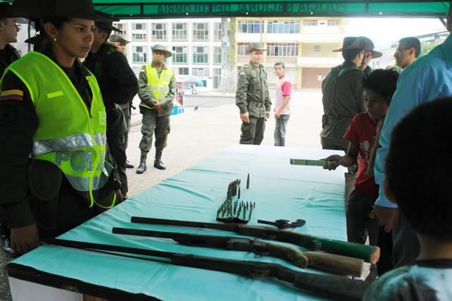 Continúa plan desarme en el Departamento del Putumayo