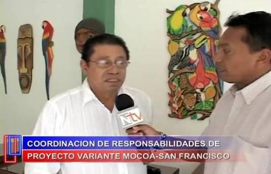 Reunión de socialización de coordinación de responsabilidades de proyecto vial