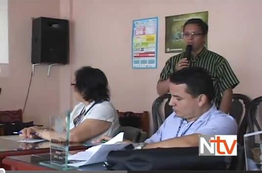 Funcionario de la ESAP capacita a los concejales de Mocoa
