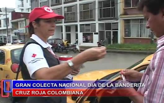 Cruz Roja Colombiana seccional Putumayo y el dia de la banderita