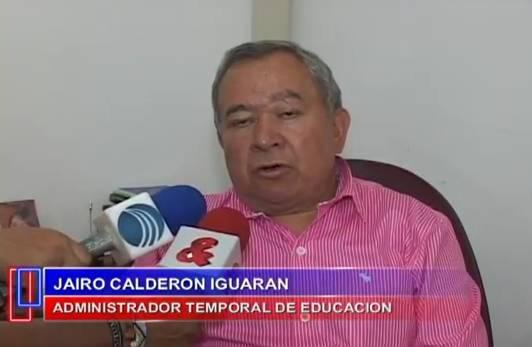 Segun el administrador temporal de la educación no hay reclutamiento de niños