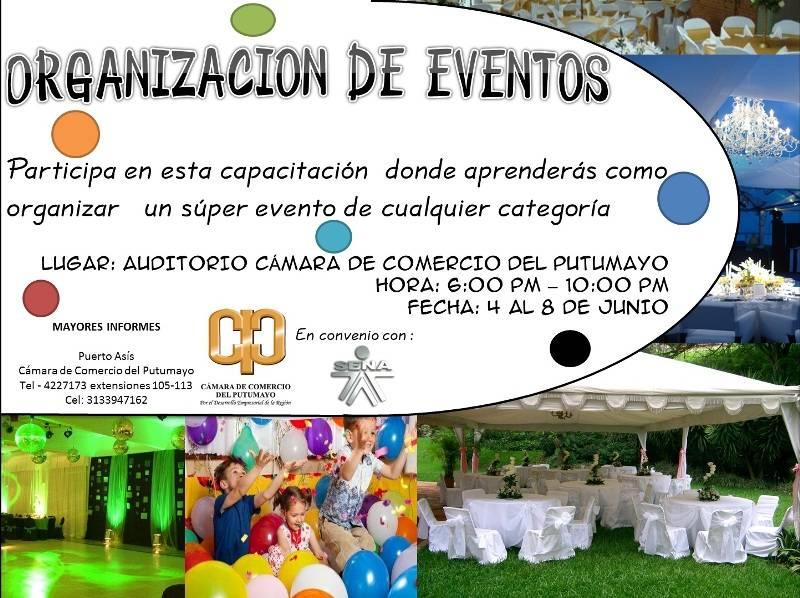 Infocomercial : Capacitación en Organización de Eventos