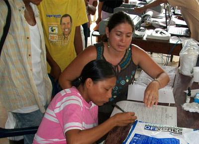 Registraduría Nacional inició campaña de identificación en la frontera peruana, a orillas de los ríos Putumayo y Amazonas