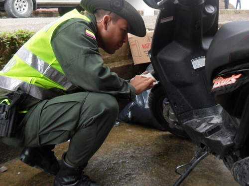 Policía recupera motocicletas hurtadas en Putumayo