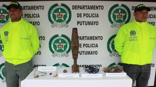Hallado artefacto explosivo entre cultivos de coca en Puerto Asís