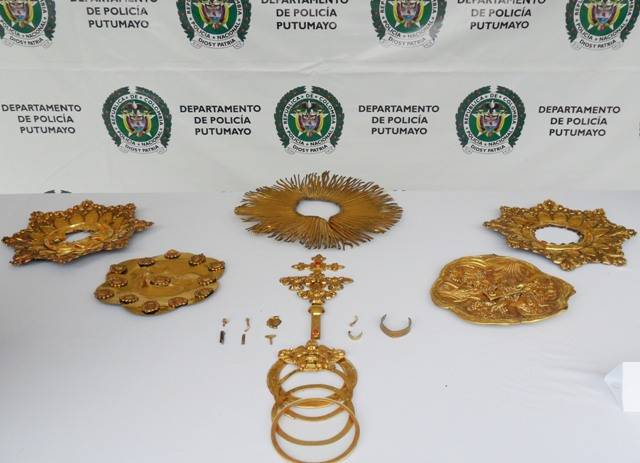Recuperada la Custodia robada de la Catedral en Mocoa