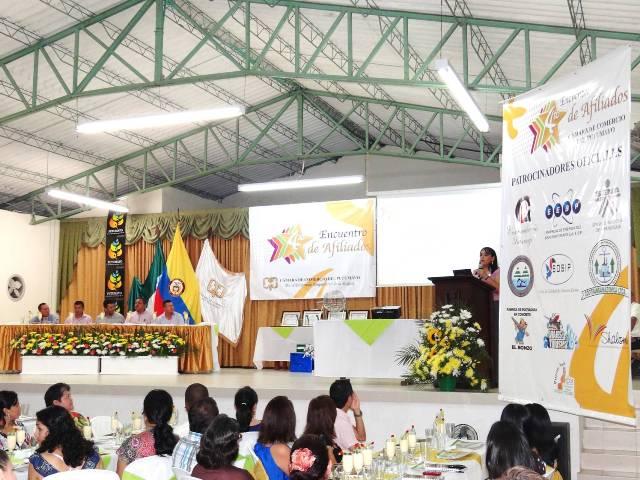 Puerto Asís fue sede del IV Encuentro de Afiliados de La Cámara de Comercio del Putumayo